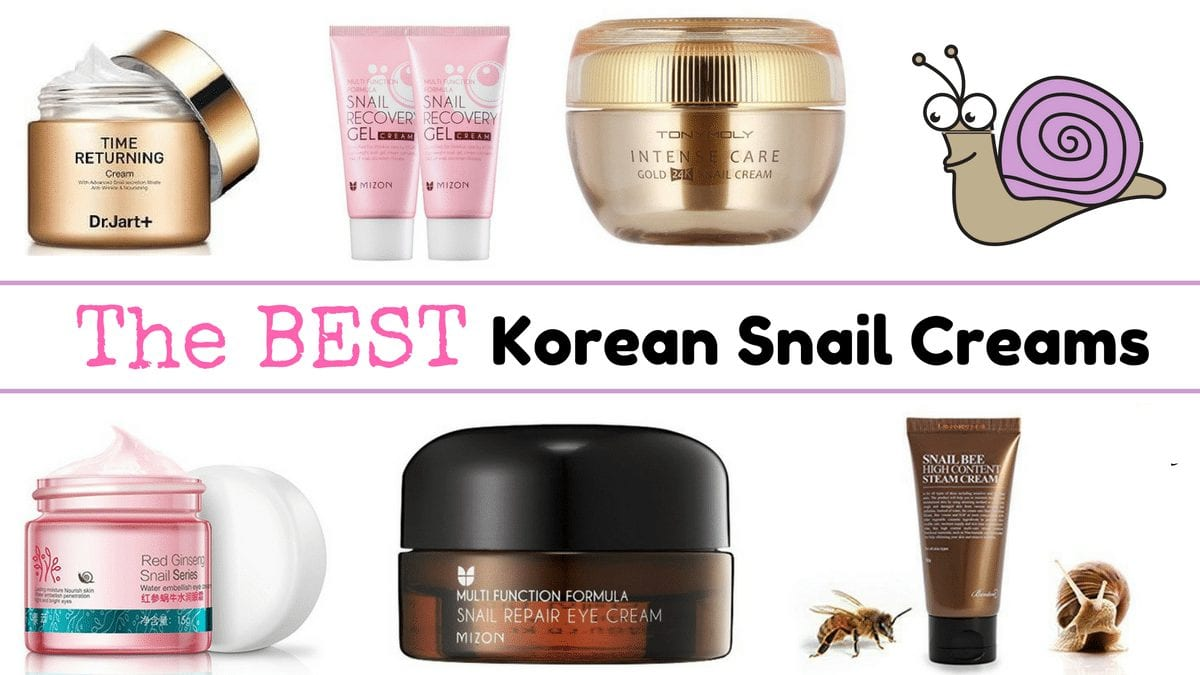 10 Best Korean Snail Creams - Nylon Pink