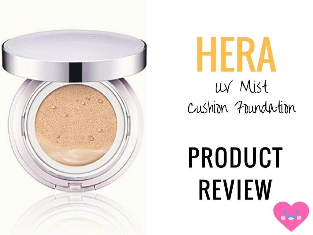 Review Hera Uv Mist Cushion Foundation Nylon Pink
