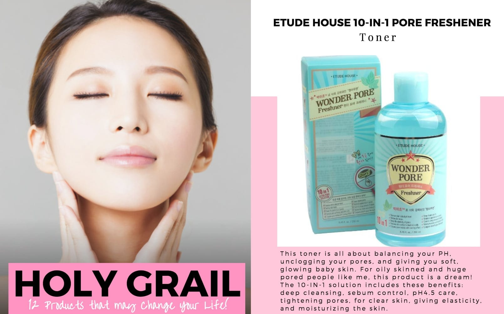 10 Best Korean Toners - Nylon Pink