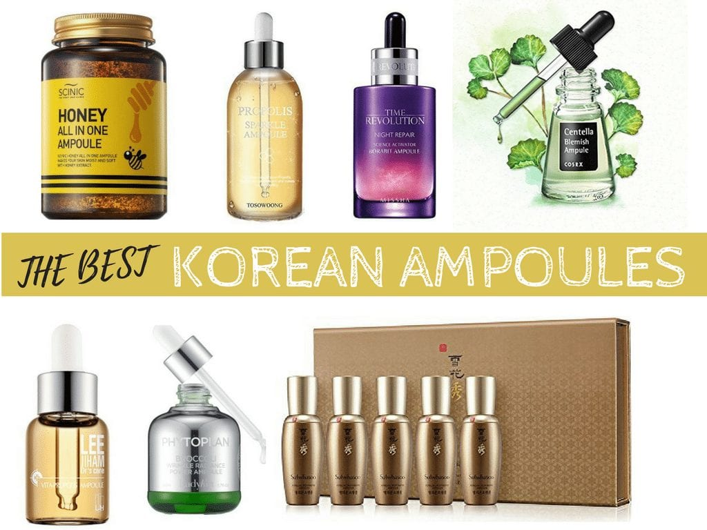 The Best Korean Ampoules - Nylon Pink