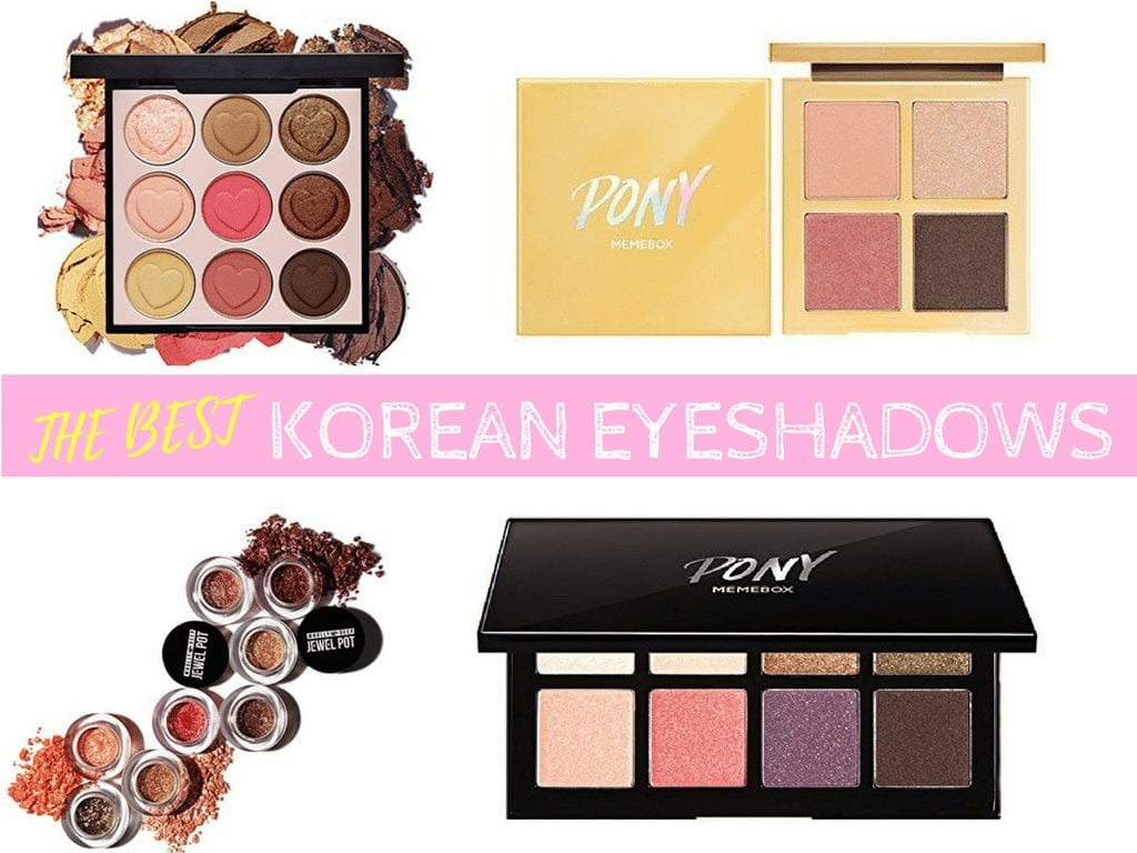 The 10 Best Korean Eyeshadows And Palettes Nylon Pink