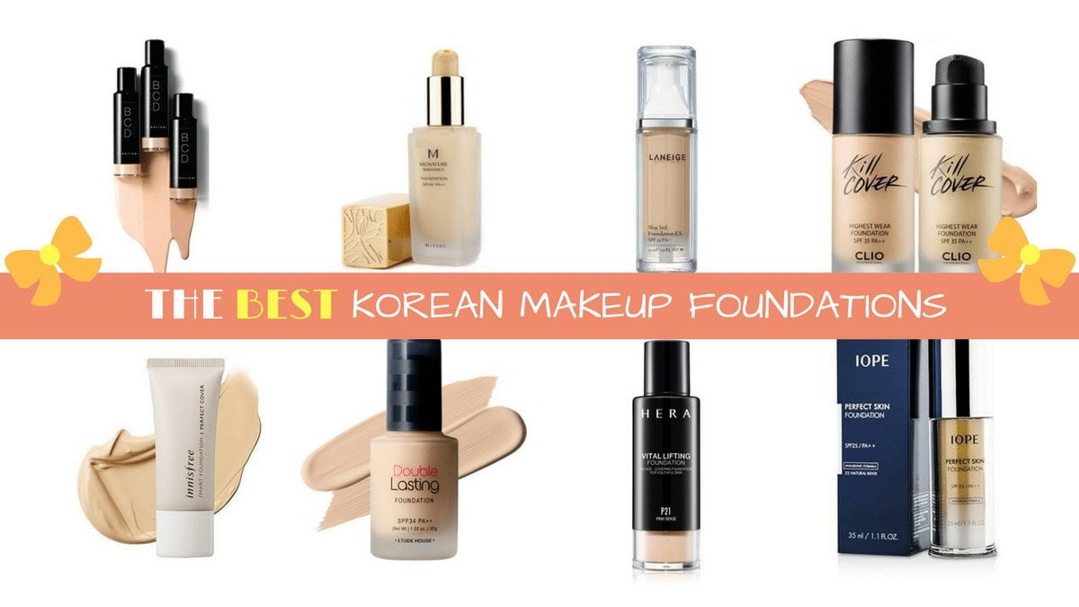 10 Best Korean Makeup Foundations Nylon Pink
