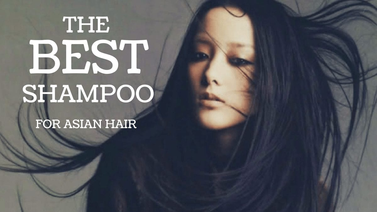 Asian hair shampoo