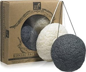 Best Charcoal Konjac Sponge for Acne - ArtNaturals