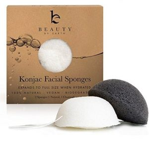 Best Charcoal Konjac Sponge for Acne - Beauty by Earth