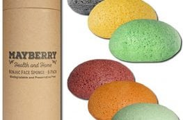 Best Charcoal Konjac Sponge for Acne - Mayberry Health and Home