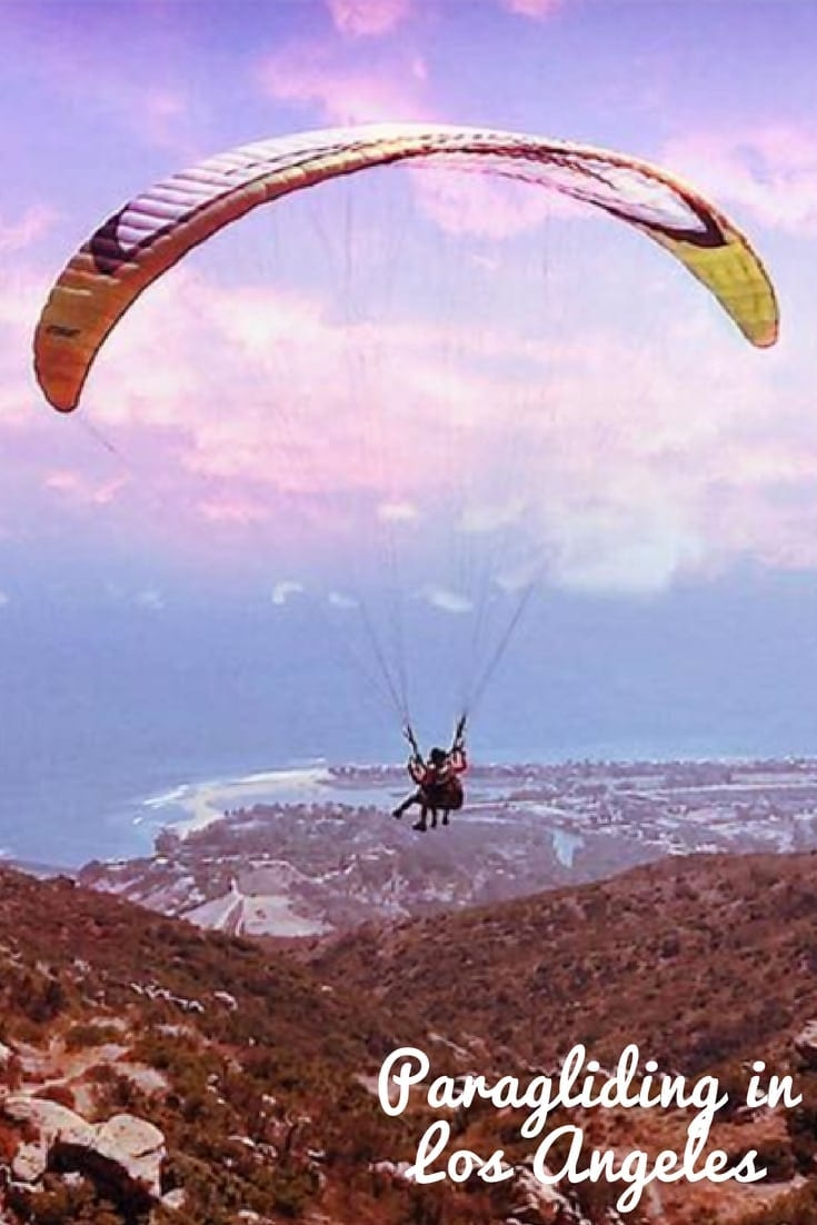 Paragliding in Los Angeles