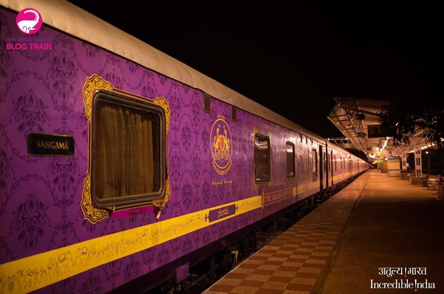 Golden Chariot Amazing Luxury Train Journey Exterior