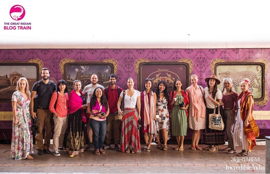 Golden Chariot Amazing Luxury Train Journey Guests