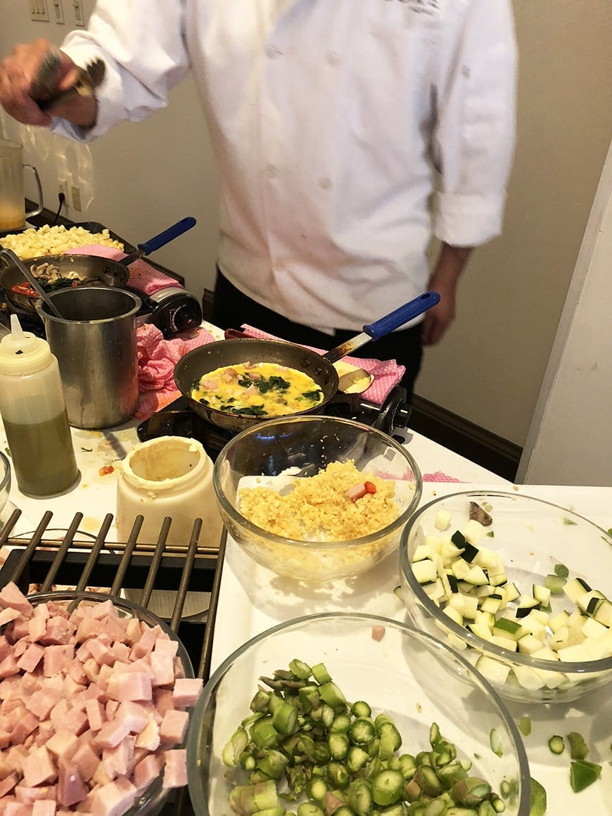 Luxe Sunset Boulevard Hotel - Easter Brunch Buffet - Omelette 2