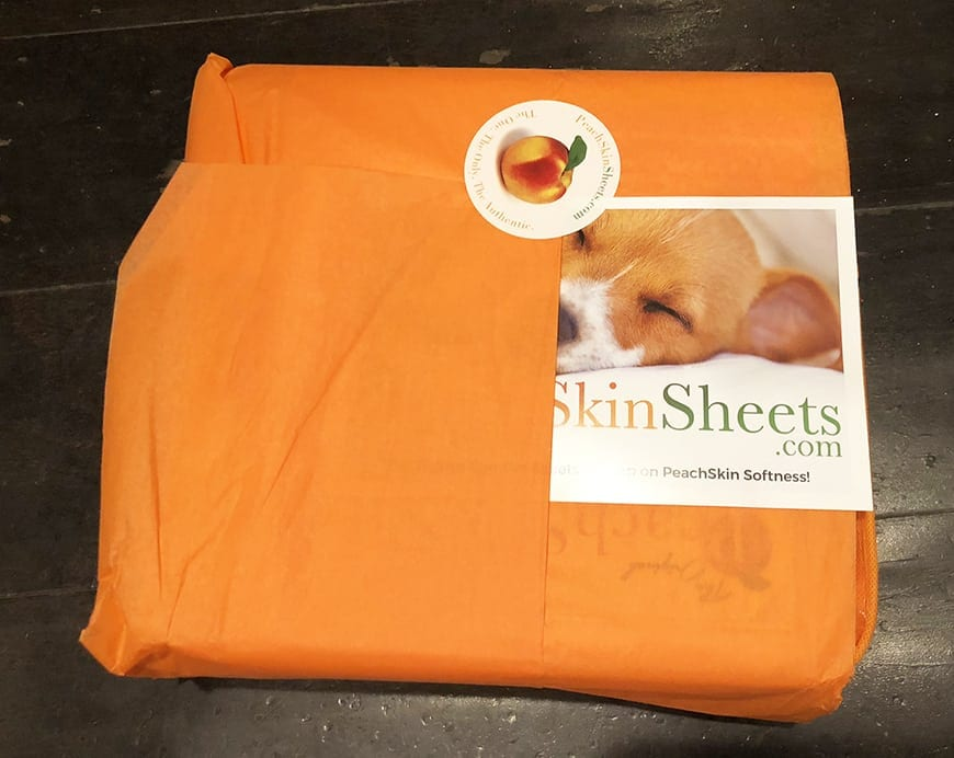 Peach Skin Sheets Wrapping