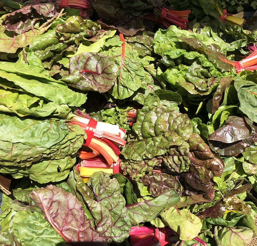 la times test kitchen and the food bowl - swiss chard