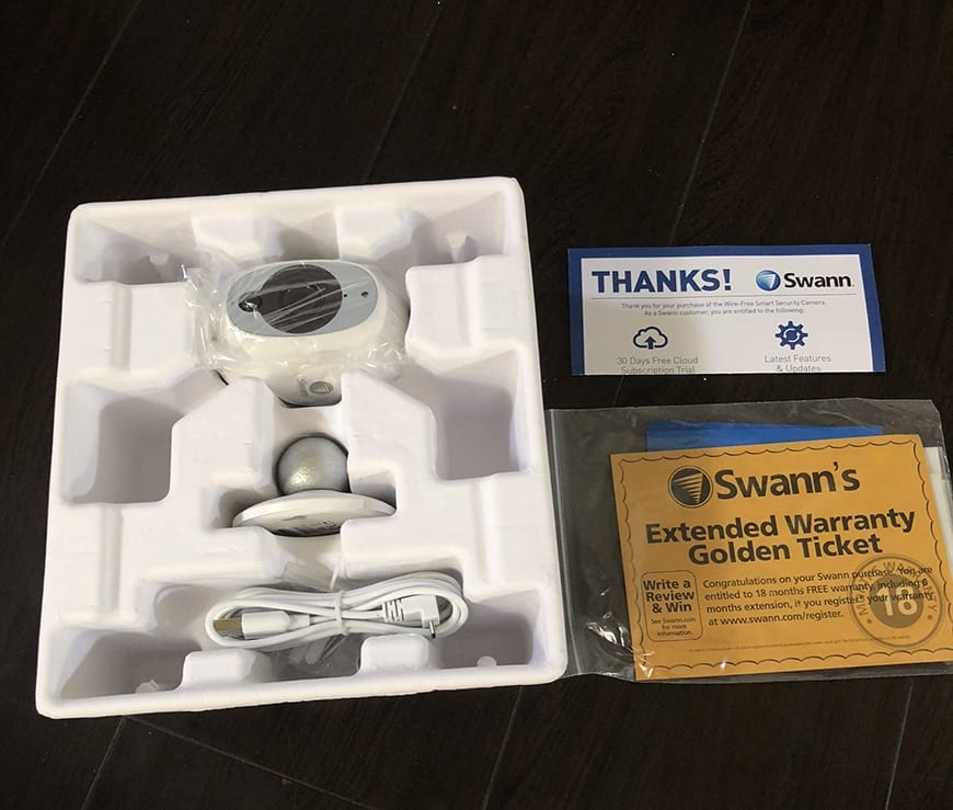 Swann Smart Security Camera Wireless 1080 Packaging