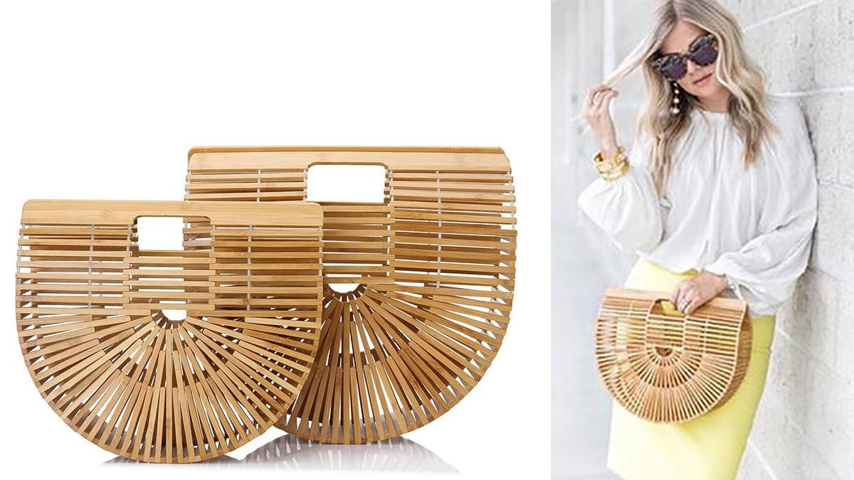 Cult Gaia Instagram Bag Bamboo
