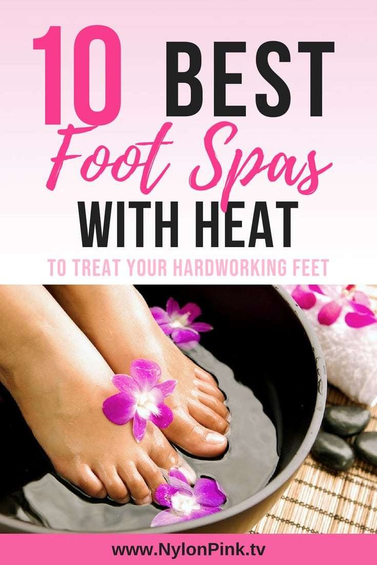 7a59a5d00 The Best Foot Spa with Heat to Treat Your Hardworking Feet! - Nylon Pink