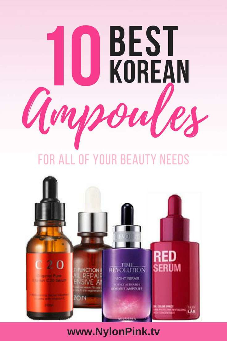 best korean ampoules