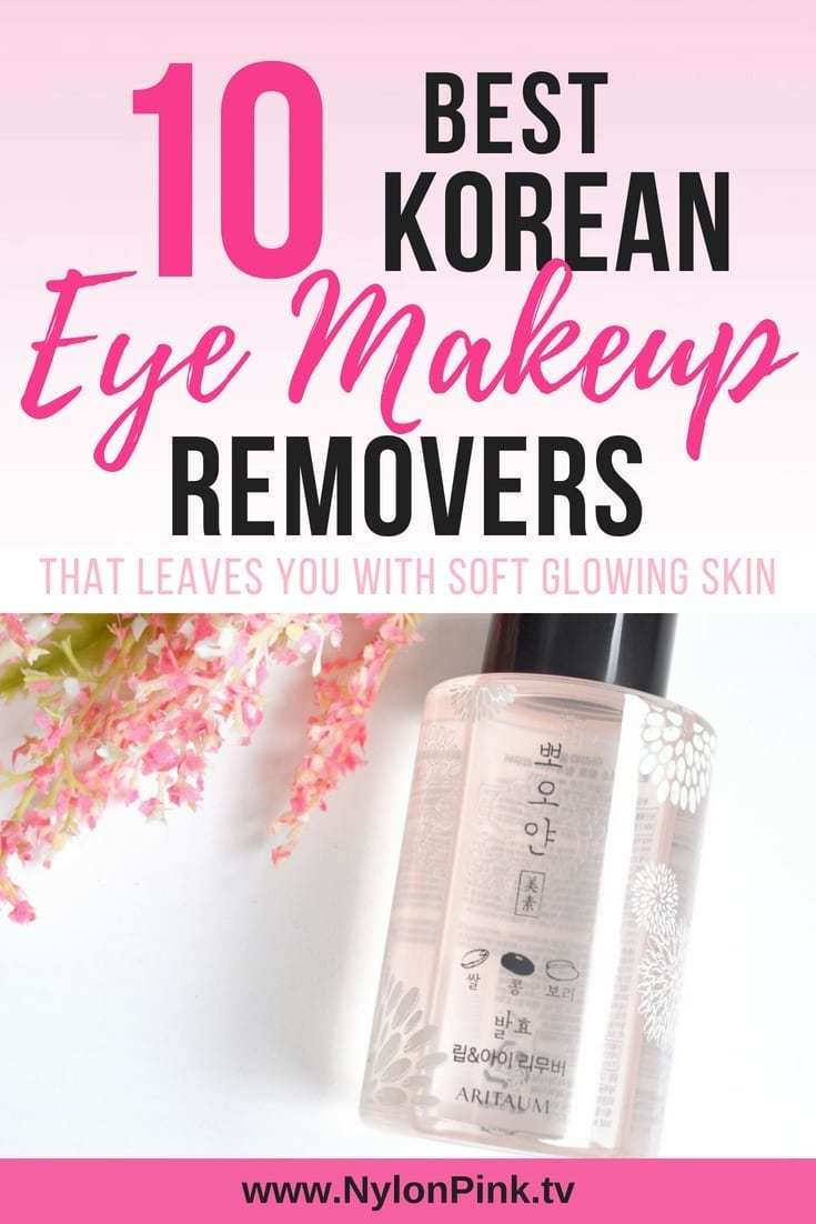 Best Korean Eye Makeup Removers