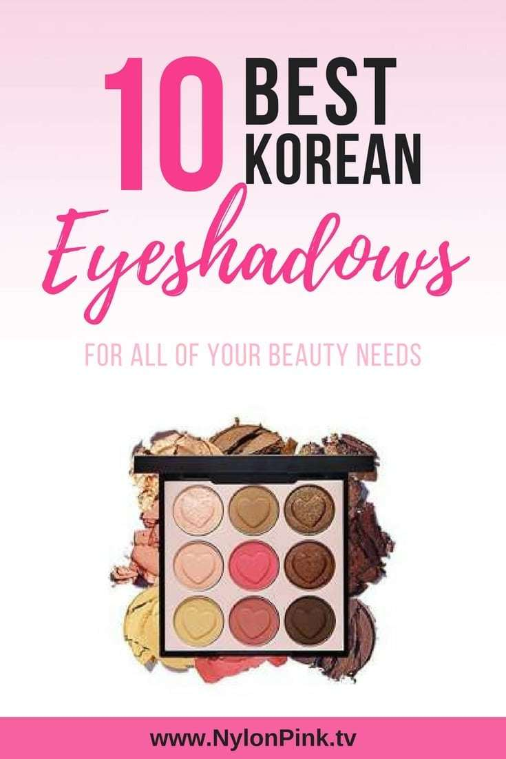 best korean eyeshadow