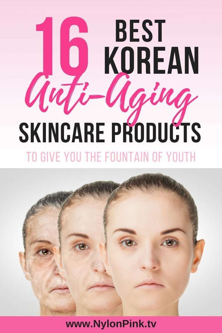 16 Best KOREAN ANTI-AGING SKIN CARE PRODUCTS - Pinterest