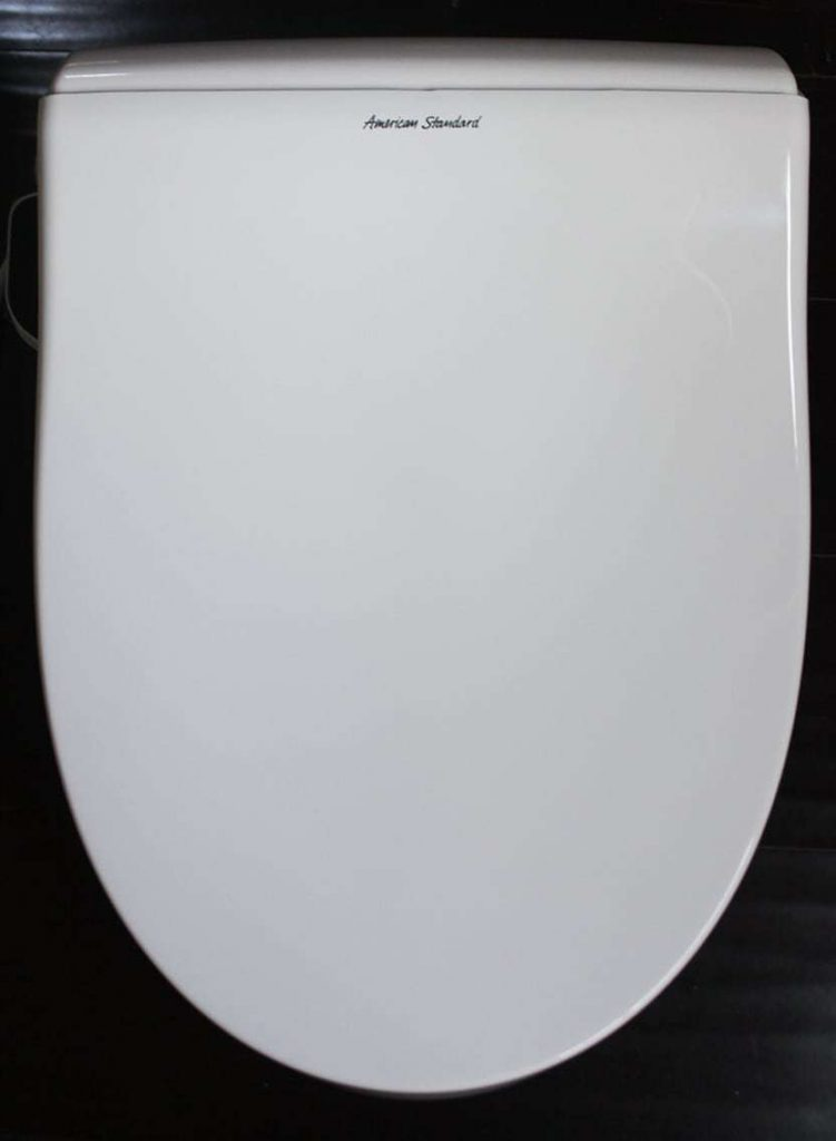 heated toilet seat with the cleaning water spray_seat