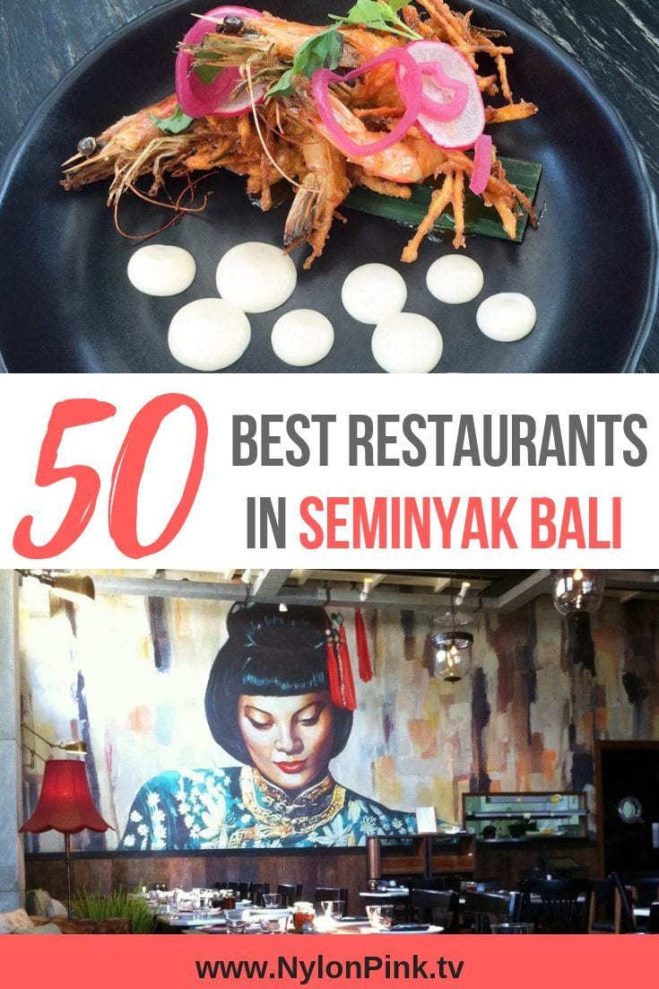The 50 Best Restaurants in Seminyak Bali