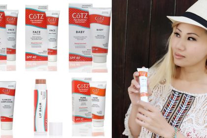 Cotz Sunscreen Giveaway