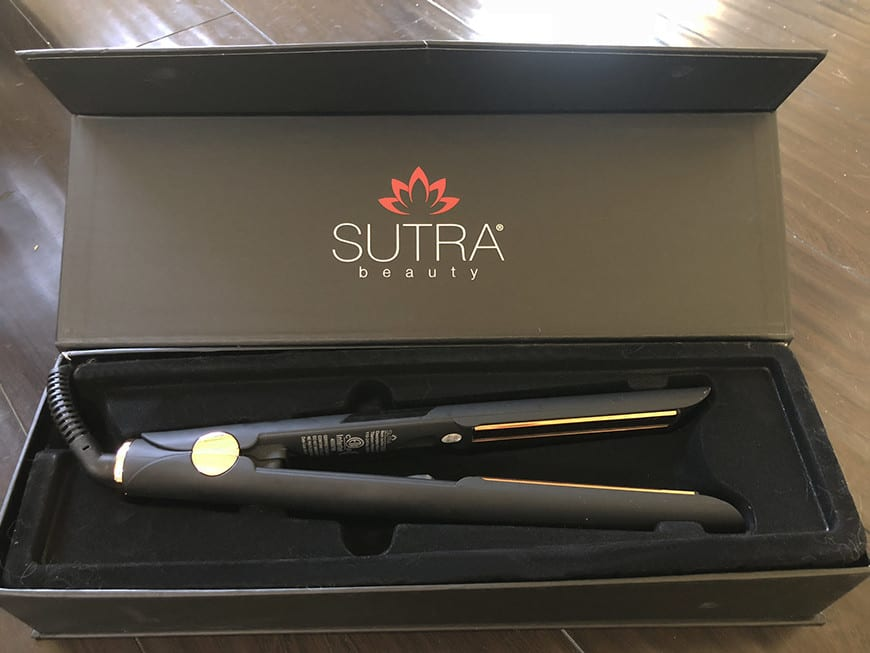 best hair straightener for extensions - sutra box 4
