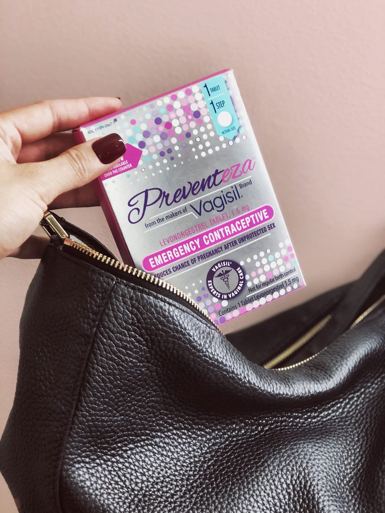 The Top 3 Reasons Why Preventeza™ Helps You Become Prepared and Powerful - Nylon Pink - 웹