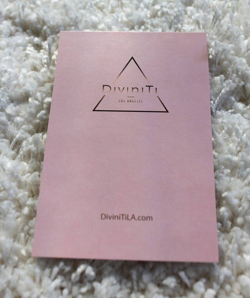 The Diviniti Rose Quartz Face Massager and Stone Box