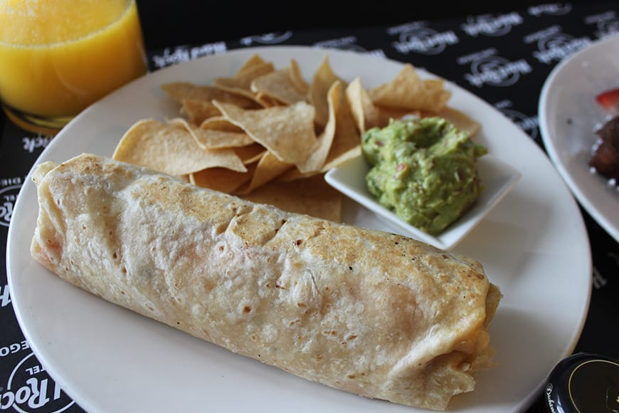 Hard Rock Hotel San Diego Breakfast Burrito