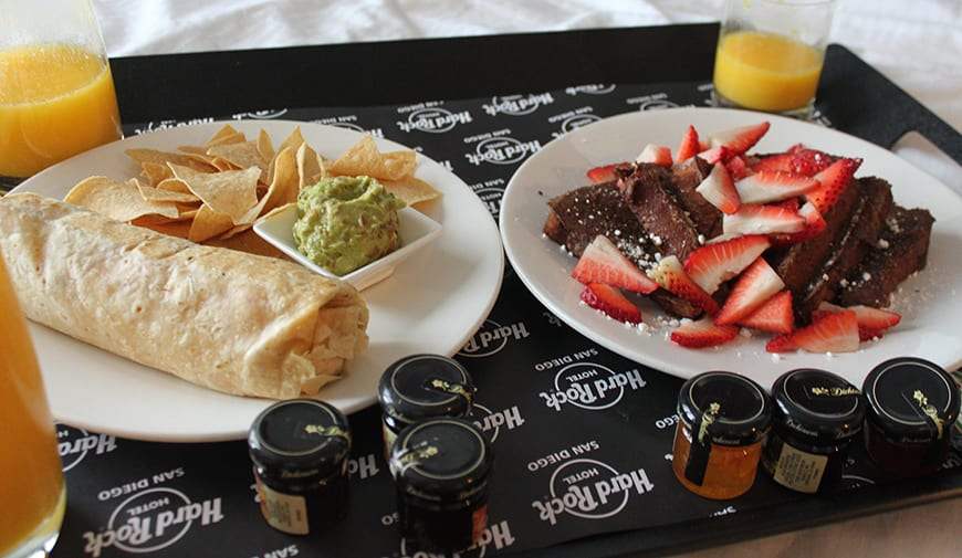 Hard Rock Hotel San Diego Room Service 2