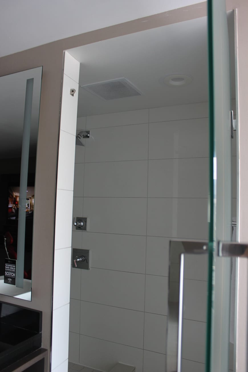 Hard Rock Hotel San Diego Shower Door