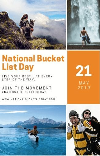 National Bucket List Day