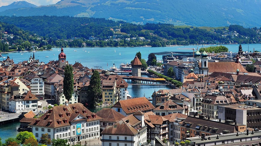 6 Nights 7 Days Switzerland Itinerary - Lucerne