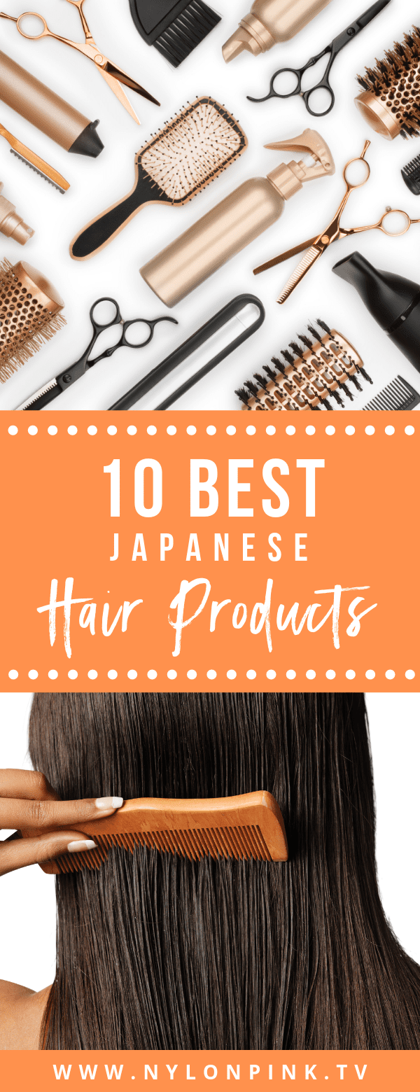 10 Best Japanese Hair Products - Pinterest