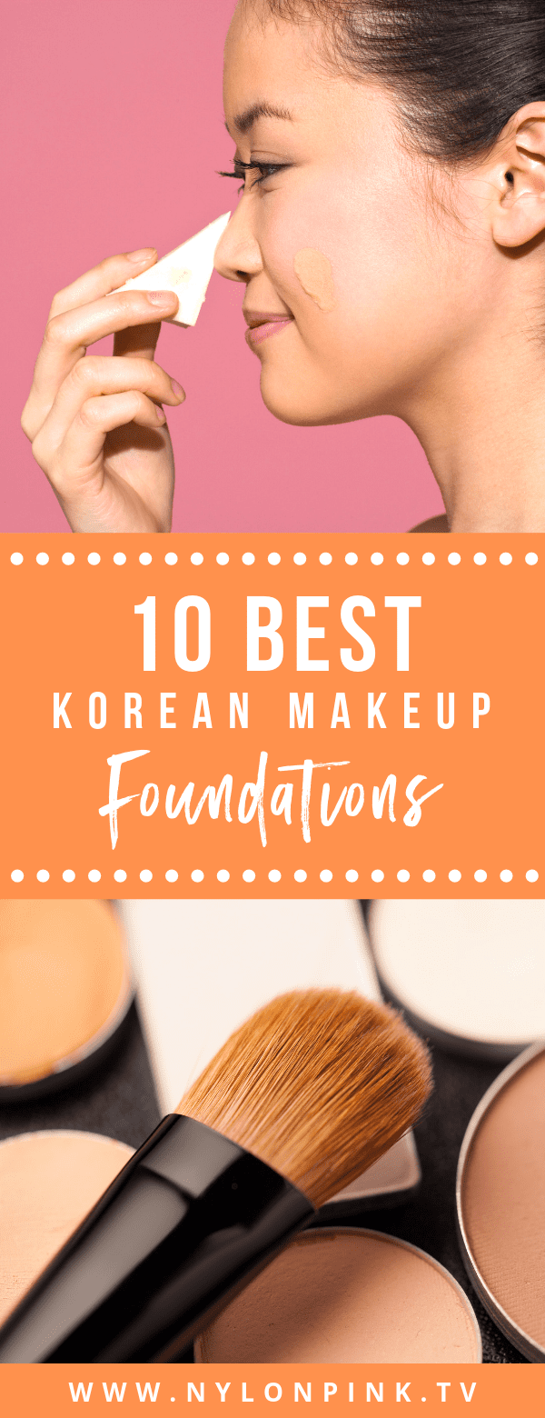 10 Best Korean Makeup Foundations - Pinterest