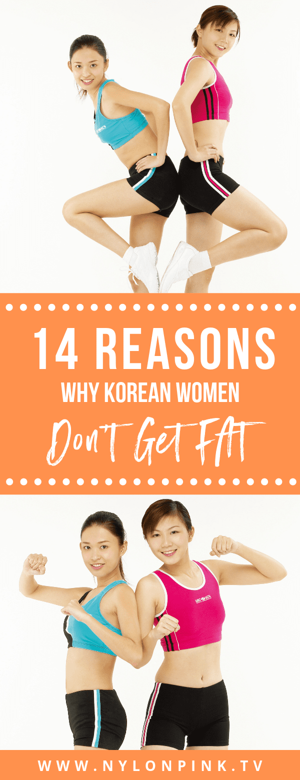 14 reasons why korean women don't get fat - Pinterest