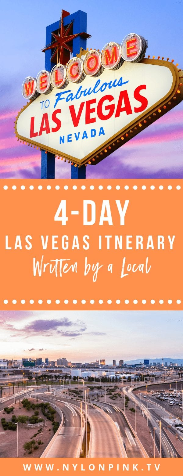 4-Day Las Vegas Itinerary