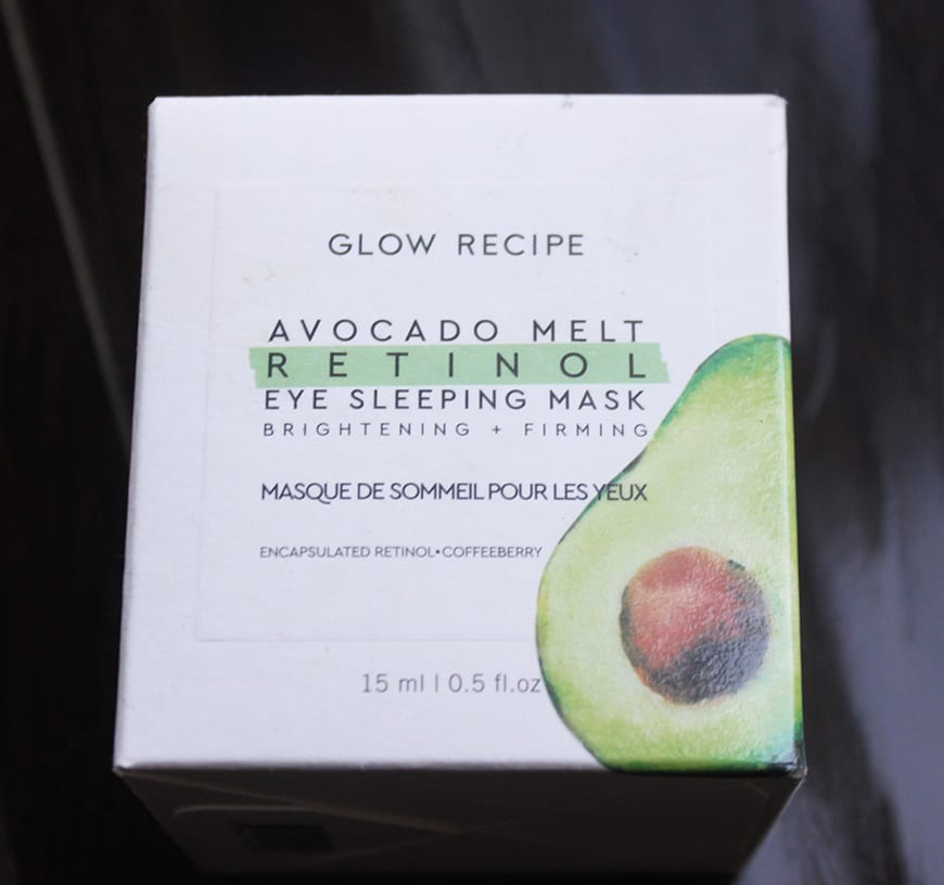 Glow Recipe – Avocado Retinol Mask 6