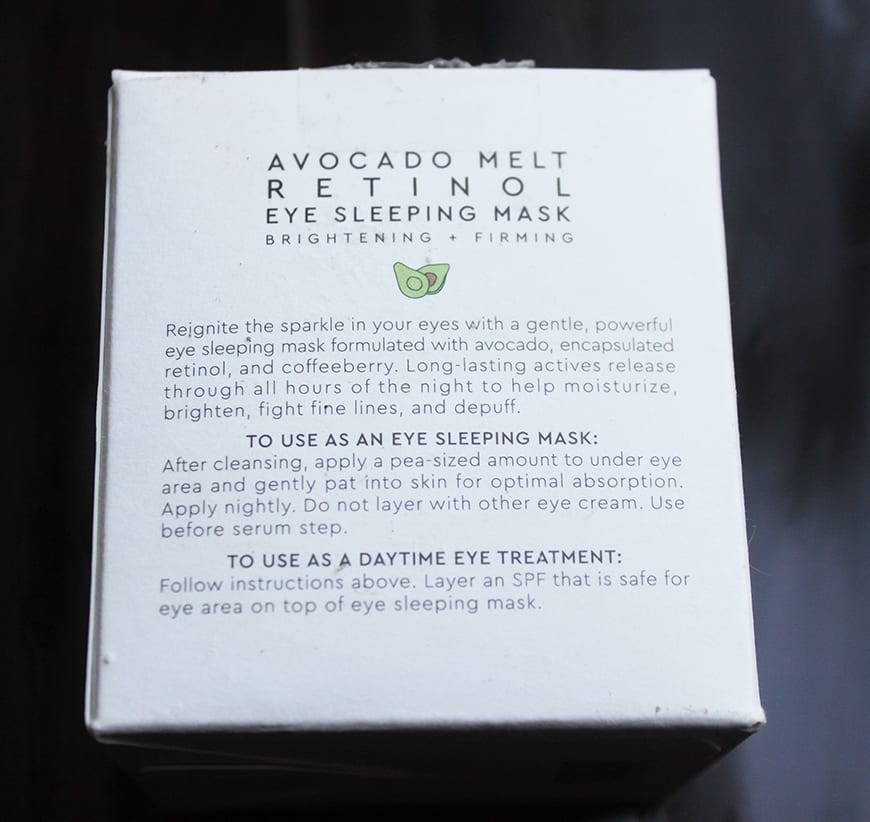 Glow Recipe – Avocado Retinol Mask