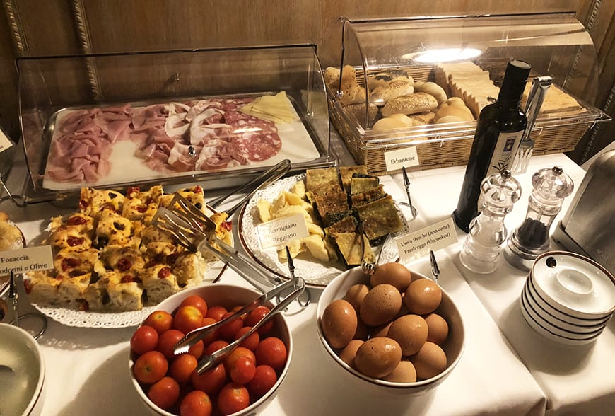 3-Day Itinerary in Emilia-Romagna, Italy - Albergo delle Notarie breakfast 1
