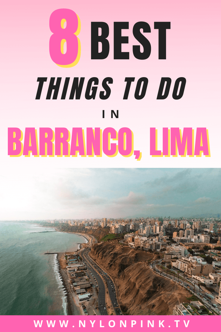 Looking to explore Barranco, Lima on your next adventure? Check out the 8 best things to do in Barranco. #barranco #barrancolima #lima #peru #southamerica #travel