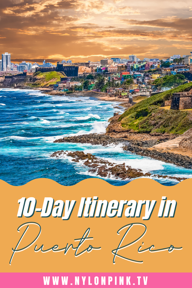 Looking to plan a dream vacation in Puerto Rico? We've got the perfect 10-day itinerary for you! Check out all the excursions, restaurants, and excitement you can experience in Puerto Rico! #puertorico #travel #beach #destinations