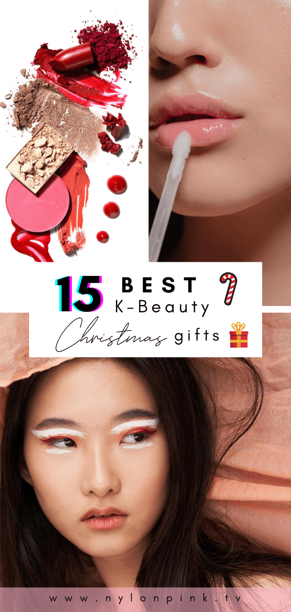 We've given you a sweet selection of 15 of the best K-Beauty Christmas gifts to choose from! #kbeauty #korean #koreanbeauty #koreanmakeup #makeup #beautyroutine #beautyproducts